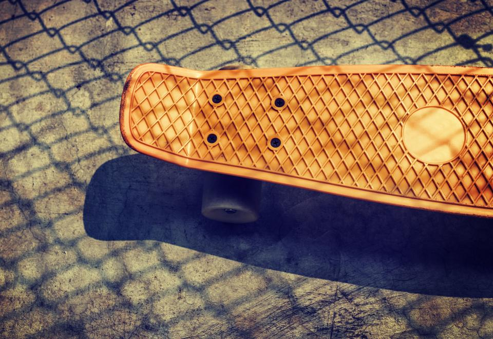 skateboard games sports outdoor adventure floor shadow sunny day