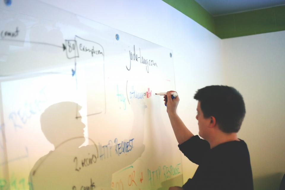 whiteboard planning meeting guy man business working http office boardroom