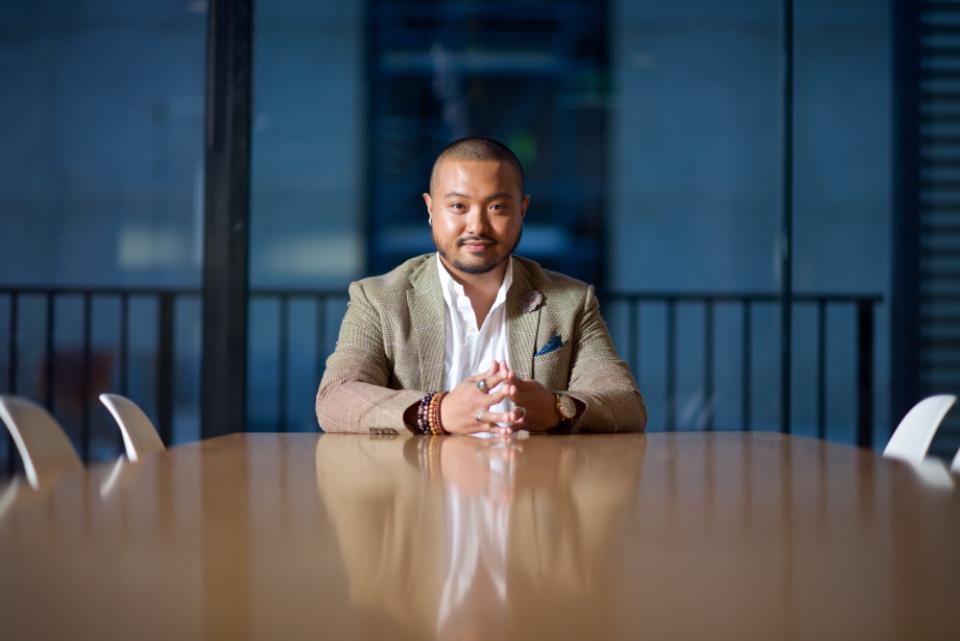 business people boardroom man guy meeting desk office suit corporate